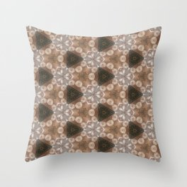 Flowers around Throw Pillow