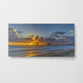 Huntington Sunburst Metal Print
