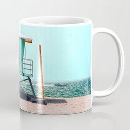 California Lifeguard Tower Coffee Mug