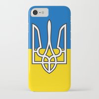 putin iPhone & iPod Cases featuring Ukrainian Sighn by NOT VERY ART
