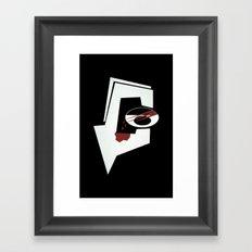 Debaser Framed Art Print