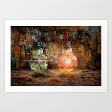Quickly shot Art Print