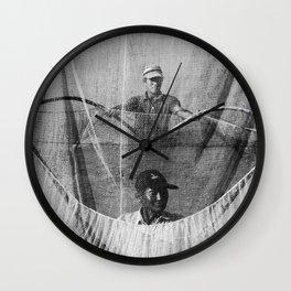 Cambodia fishing Wall Clock