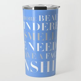 Bridesmaids Wedding Pine Needles Sunshine Travel Mug