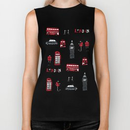 London icons illustration Biker Tank