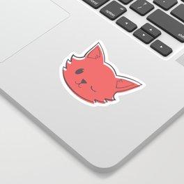 Kitty Wink Sticker