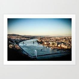 Danube Art Print