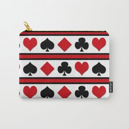 Four card suits Carry-All Pouch