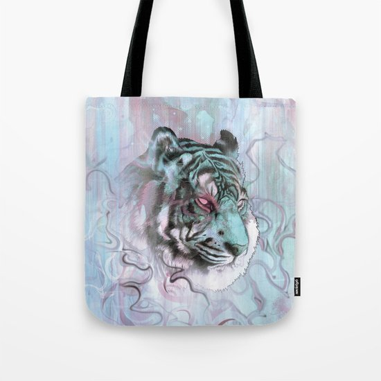 Illusive By Nature (Blue) Tote Bag