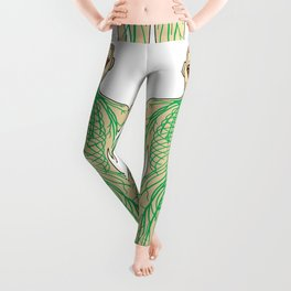 Human neural pathways Leggings