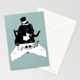 Exceptional Eggplant Stationery Cards