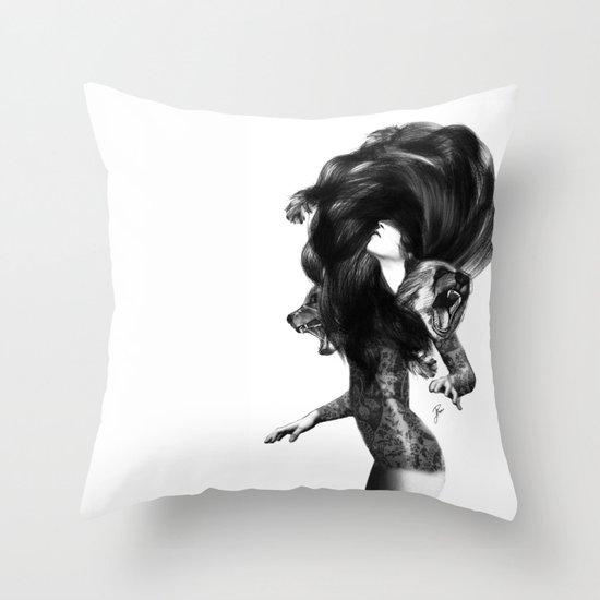 Bear #3 Throw Pillow