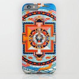Hindu Buddhist Mandala 18 iPhone Case