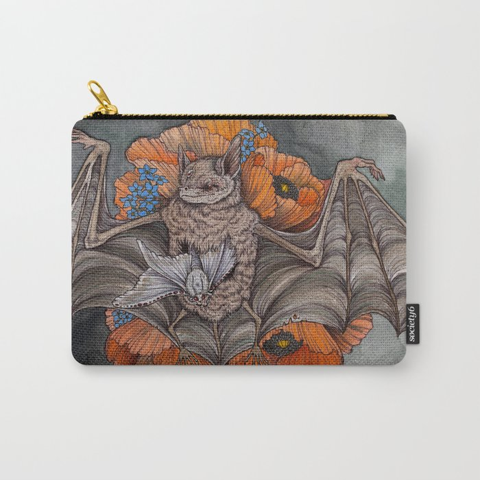 Chiroptera  Carry-All Pouch