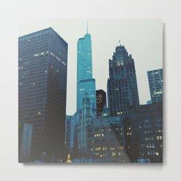 Trump Tower Chicago Metal Print