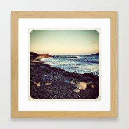 Beach - Instagram Framed Art Print
