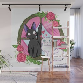 Jiji and Lily Wall Mural
