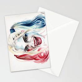The Harlequin Stationery Cards