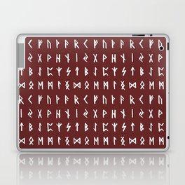 Nordic Runes // Monarch Red Laptop & iPad Skin
