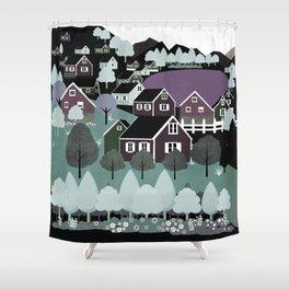 Norway 8 Shower Curtain