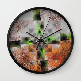 Invernal Wall Clock