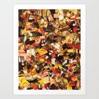 circus Art Prints featuring Circus by Kerri Swayze