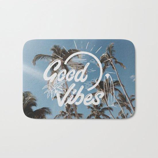 Good Vibes (summer) Bath Mat