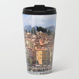 Colors of Menton France Travel Mug