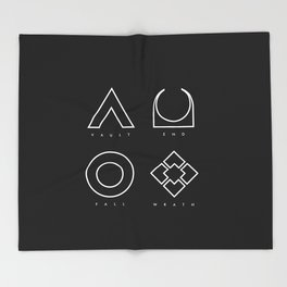 PAUSE – RAID Throw Blanket