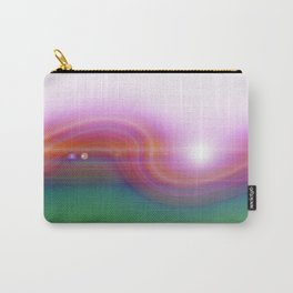 Waved Horizon Carry-All Pouch