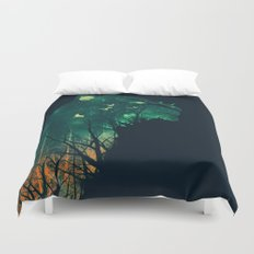 Space Tiger Duvet Cover