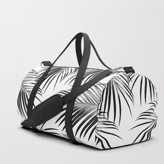 Black Palm Leaves Dream #2 #tropical #decor #art #society6 by anitabellajantzart