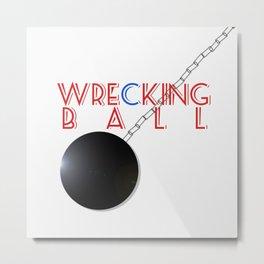 Wrecking Ball - Miley Cyrus Metal Print