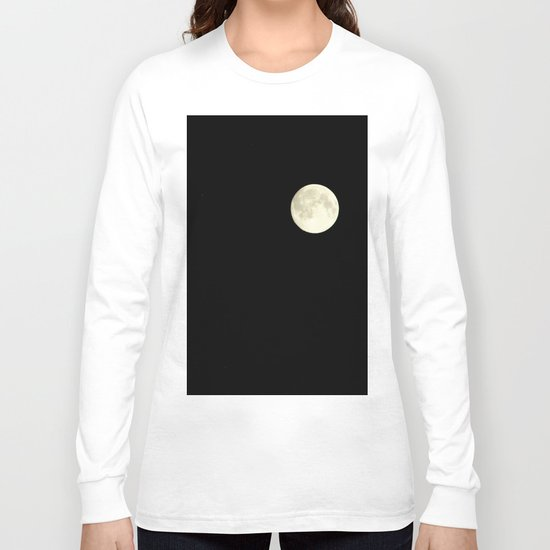 The moon over my balcony Long Sleeve T-shirt