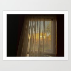 Afternoon Sun in Early May Art Print