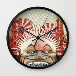 Luna Park Wall Clock