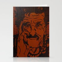 vonnegut Stationery Cards featuring Kurt Vonnegut, Jr. by Emily Storvold