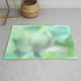 Soft Lotus Focus Rug