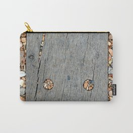 Beach Pebble Abstract Carry-All Pouch