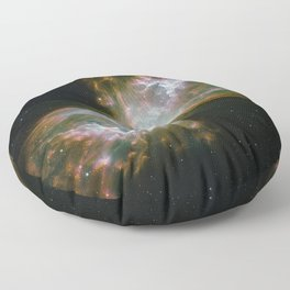 The Butterfly Nebula Floor Pillow