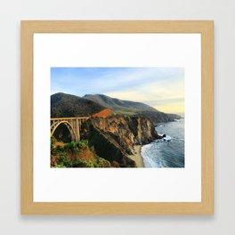 Bixby Bridge, 2015 Framed Art Print