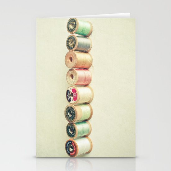 Pastel Thread Stationery Cards