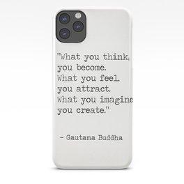 Buddha quote 5 iPhone Case
