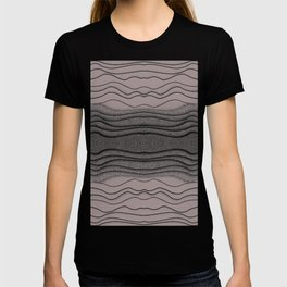 Crashing Waves - Diffuse Muted Ocean Abstract Nature T-shirt