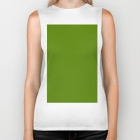 avocado Biker Tanks featuring Avocado by List of colors