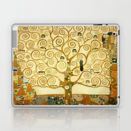 Gustav Klimt The Tree Of Life Laptop & iPad Skin