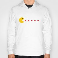 pacman Hoodies featuring Pacman by AA++
