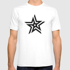 Untitled Star Mens Fitted Tee MEDIUM White