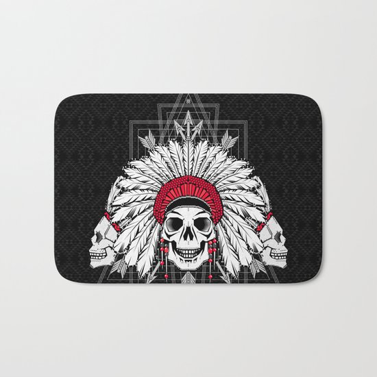 Southern Death Cult Bath Mat