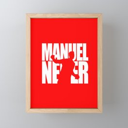 Name: Neuer Framed Mini Art Print